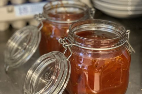 Vi gör egen marmelad