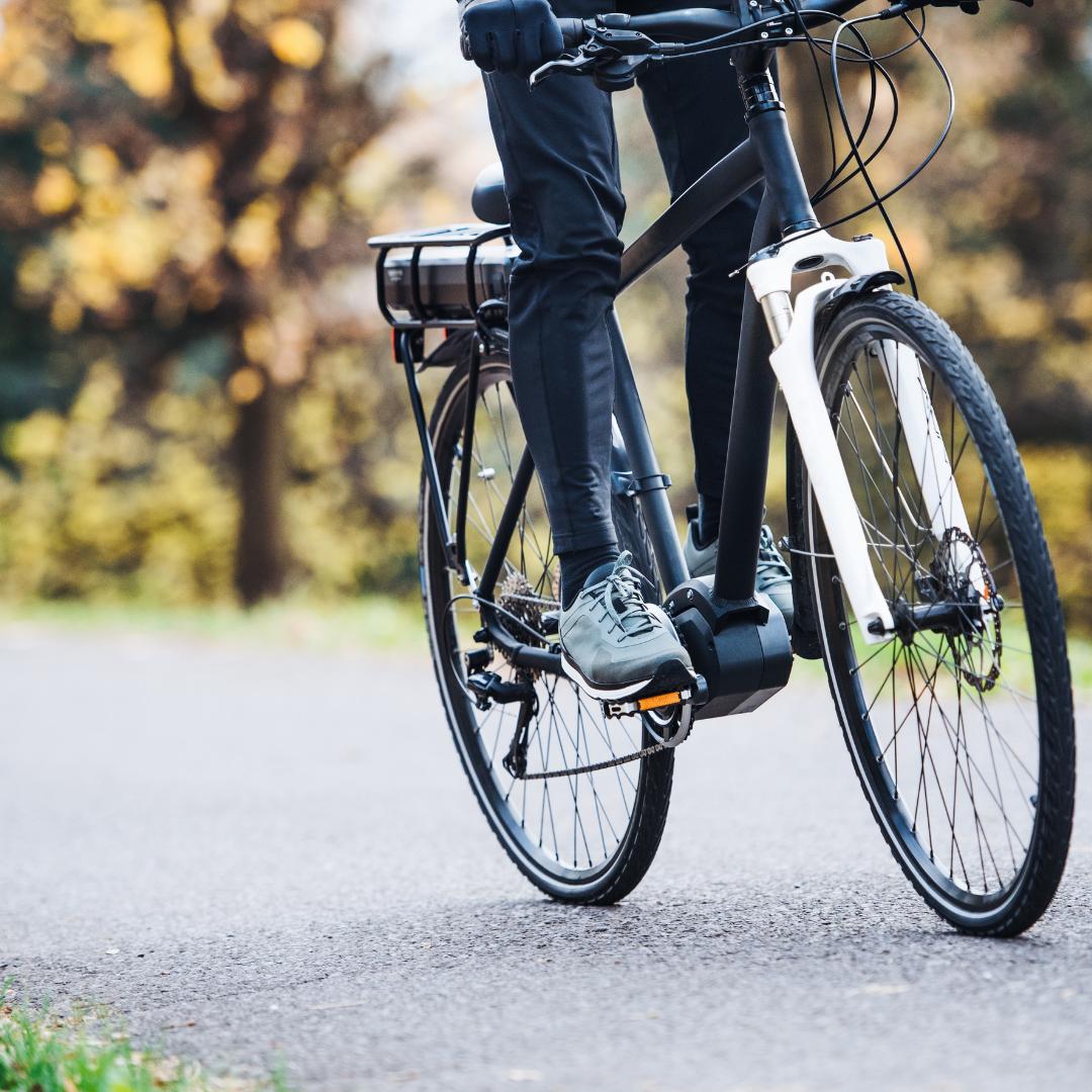Cykla in våren i Örnsköldsvik