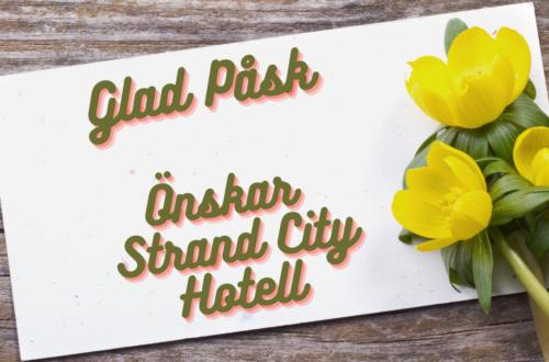 Glad påsk önskar Strand City Hotell