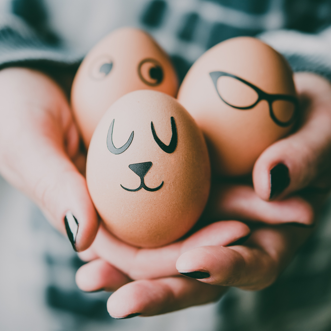 Hos oss firar vi med ägg